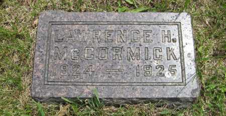 MCCORMICK, LAWRENCE H. - Dodge County, Nebraska | LAWRENCE H. MCCORMICK - Nebraska Gravestone Photos