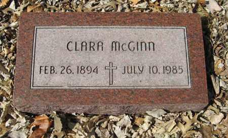 MCGINN, CLARA - Dodge County, Nebraska | CLARA MCGINN - Nebraska Gravestone Photos