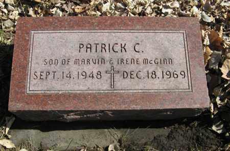 MCGINN, PATRICK C. - Dodge County, Nebraska | PATRICK C. MCGINN - Nebraska Gravestone Photos