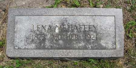 MEHAFFEY, LENA - Dodge County, Nebraska | LENA MEHAFFEY - Nebraska Gravestone Photos