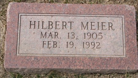 MEIER, HILBERT - Dodge County, Nebraska | HILBERT MEIER - Nebraska Gravestone Photos