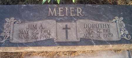 MEIER, JIM A - Dodge County, Nebraska | JIM A MEIER - Nebraska Gravestone Photos
