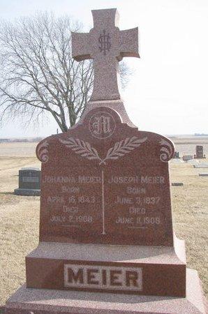 MEIER, JOSEPH - Dodge County, Nebraska | JOSEPH MEIER - Nebraska Gravestone Photos