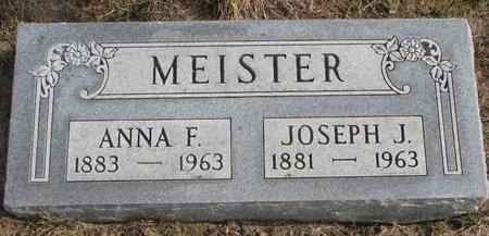 MEISTER, ANNA F. - Dodge County, Nebraska   ANNA F. MEISTER - Nebraska Gravestone Photos