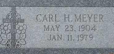 MEYER, CARL H. - Dodge County, Nebraska | CARL H. MEYER - Nebraska Gravestone Photos