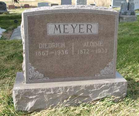 MEYER, DIEDRICH - Dodge County, Nebraska   DIEDRICH MEYER - Nebraska Gravestone Photos