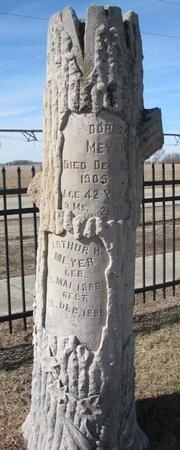 MEYER, DORIS - Dodge County, Nebraska | DORIS MEYER - Nebraska Gravestone Photos