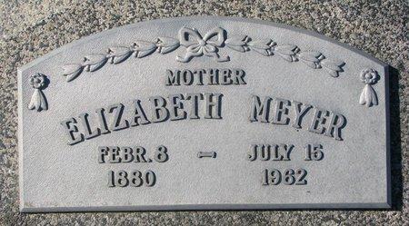 MEYER, ELIZABETH - Dodge County, Nebraska | ELIZABETH MEYER - Nebraska Gravestone Photos