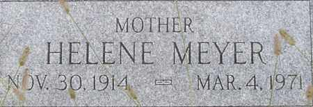 MEYER, HELENE - Dodge County, Nebraska | HELENE MEYER - Nebraska Gravestone Photos