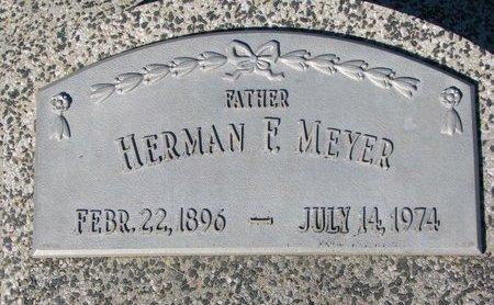 MEYER, HERMAN F. - Dodge County, Nebraska | HERMAN F. MEYER - Nebraska Gravestone Photos