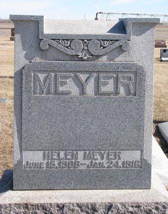 MEYER, HELEN - Dodge County, Nebraska   HELEN MEYER - Nebraska Gravestone Photos