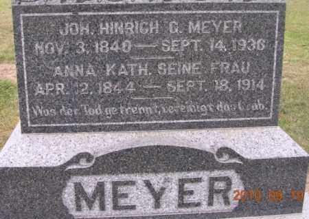LUERS MEYER, ANNA - Dodge County, Nebraska | ANNA LUERS MEYER - Nebraska Gravestone Photos