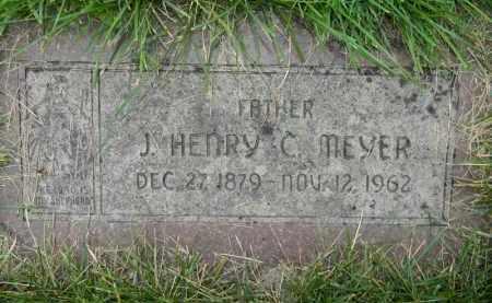 MEYER, J HENRY C - Dodge County, Nebraska | J HENRY C MEYER - Nebraska Gravestone Photos