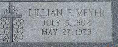 MEYER, LILLIAN E. - Dodge County, Nebraska | LILLIAN E. MEYER - Nebraska Gravestone Photos
