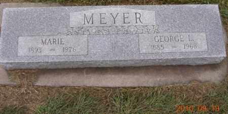 ANDERSEN MEYER, MARIE - Dodge County, Nebraska | MARIE ANDERSEN MEYER - Nebraska Gravestone Photos