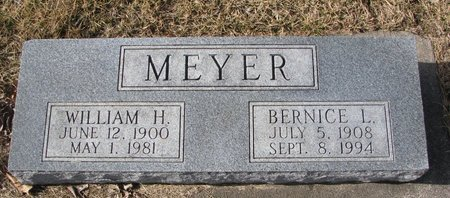 MEYER, WILLIAM H. - Dodge County, Nebraska | WILLIAM H. MEYER - Nebraska Gravestone Photos