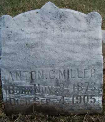 MILLER, ANTON C - Dodge County, Nebraska | ANTON C MILLER - Nebraska Gravestone Photos