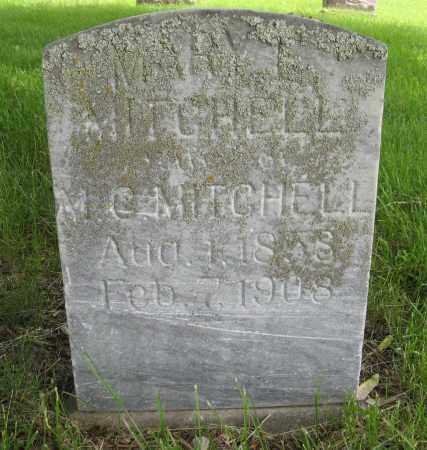 MITCHELL, MARY E. - Dodge County, Nebraska | MARY E. MITCHELL - Nebraska Gravestone Photos