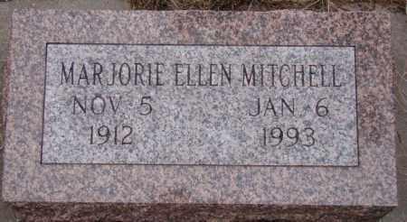 MITCHELL, MARJORIE ELLEN - Dodge County, Nebraska | MARJORIE ELLEN MITCHELL - Nebraska Gravestone Photos