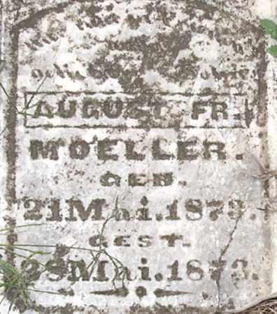 MOELLER, AUGUST - Dodge County, Nebraska | AUGUST MOELLER - Nebraska Gravestone Photos