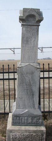MOLLE, MATHILDA - Dodge County, Nebraska | MATHILDA MOLLE - Nebraska Gravestone Photos