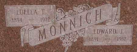 MONNICH, LUELLA - Dodge County, Nebraska | LUELLA MONNICH - Nebraska Gravestone Photos