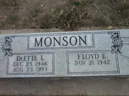 MONSON, DEETTE - Dodge County, Nebraska | DEETTE MONSON - Nebraska Gravestone Photos