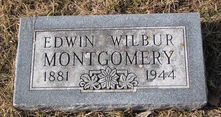 MONTGOMERY, EDWIN WILBUR - Dodge County, Nebraska   EDWIN WILBUR MONTGOMERY - Nebraska Gravestone Photos