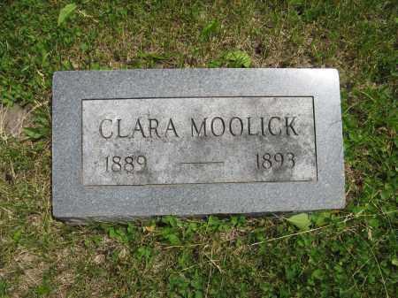 MOOLICK, CLARA - Dodge County, Nebraska | CLARA MOOLICK - Nebraska Gravestone Photos