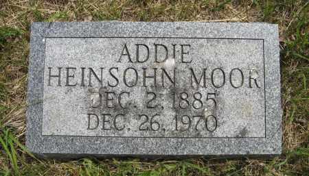 MOOR, ADDIE - Dodge County, Nebraska   ADDIE MOOR - Nebraska Gravestone Photos