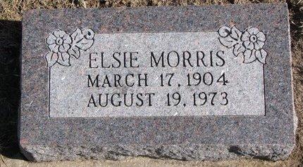 MORRIS, ELSIE - Dodge County, Nebraska | ELSIE MORRIS - Nebraska Gravestone Photos