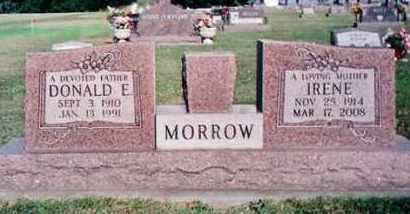MORROW, IRENE - Dodge County, Nebraska | IRENE MORROW - Nebraska Gravestone Photos