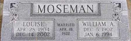 FEYE MOSEMAN, LOUISE - Dodge County, Nebraska | LOUISE FEYE MOSEMAN - Nebraska Gravestone Photos