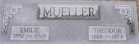 BEIKMAN MUELLER, EMILIE - Dodge County, Nebraska | EMILIE BEIKMAN MUELLER - Nebraska Gravestone Photos