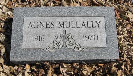MULLALLY, AGNES - Dodge County, Nebraska | AGNES MULLALLY - Nebraska Gravestone Photos