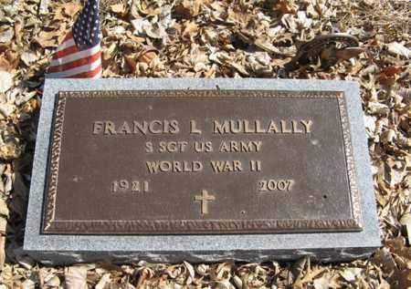 MULLALLY, FRANCIS L. (MILITARY MARKER) - Dodge County, Nebraska | FRANCIS L. (MILITARY MARKER) MULLALLY - Nebraska Gravestone Photos