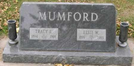 WATT MUMFORD, ELSIE - Dodge County, Nebraska | ELSIE WATT MUMFORD - Nebraska Gravestone Photos