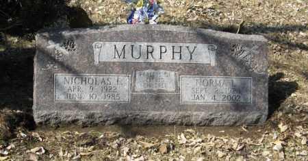MURPHY, NORMA L. - Dodge County, Nebraska   NORMA L. MURPHY - Nebraska Gravestone Photos
