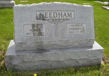 NEEDHAM, HARMON C. - Dodge County, Nebraska | HARMON C. NEEDHAM - Nebraska Gravestone Photos
