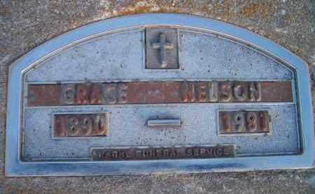 NELSON, GRACE - Dodge County, Nebraska | GRACE NELSON - Nebraska Gravestone Photos