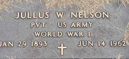NELSON, JULIUS - Dodge County, Nebraska | JULIUS NELSON - Nebraska Gravestone Photos