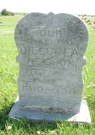 NELSON, LILLIAN A. - Dodge County, Nebraska | LILLIAN A. NELSON - Nebraska Gravestone Photos