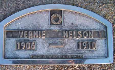 NELSON, VERNIE - Dodge County, Nebraska | VERNIE NELSON - Nebraska Gravestone Photos