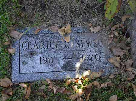 OLESON NEWSOM, CLARICE - Dodge County, Nebraska   CLARICE OLESON NEWSOM - Nebraska Gravestone Photos