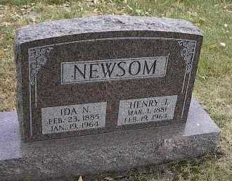NEWSOM, IDA N. - Dodge County, Nebraska | IDA N. NEWSOM - Nebraska Gravestone Photos