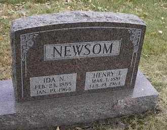 NELSON NEWSOM, IDA N. - Dodge County, Nebraska | IDA N. NELSON NEWSOM - Nebraska Gravestone Photos