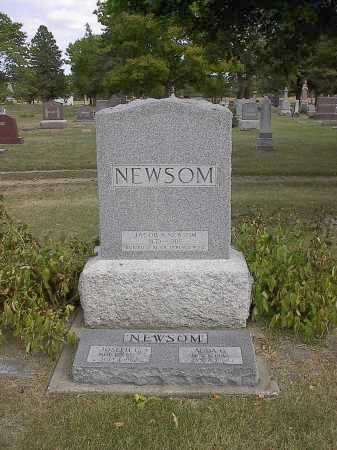 NEWSOM, ADDA - Dodge County, Nebraska | ADDA NEWSOM - Nebraska Gravestone Photos