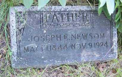 NEWSOM, JOSEPH ELLIS - Dodge County, Nebraska | JOSEPH ELLIS NEWSOM - Nebraska Gravestone Photos