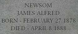 NEWSOM, JAMES - Dodge County, Nebraska | JAMES NEWSOM - Nebraska Gravestone Photos