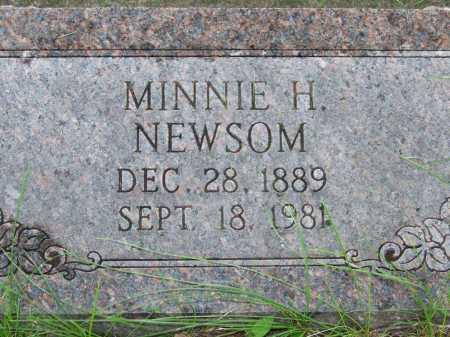 NEWSOM, MINNIE HAZEL - Dodge County, Nebraska | MINNIE HAZEL NEWSOM - Nebraska Gravestone Photos